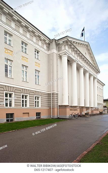 Estonia, Southeastern Estonia, Tartu, Tartu University Building