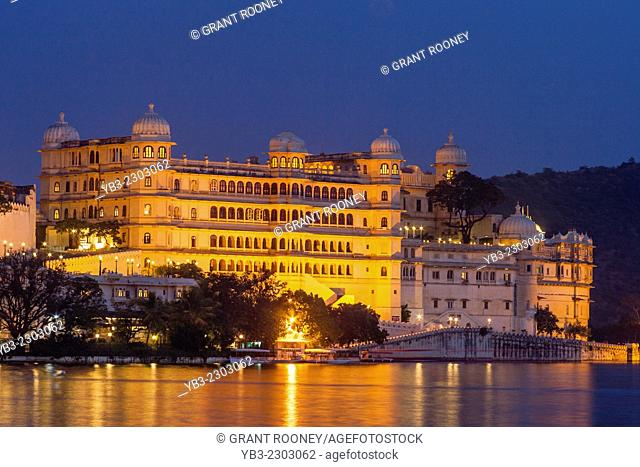 The City Palace Complex, Udaipur, Rajasthan, India