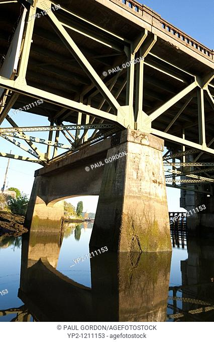The South Park Bridge is a double-leaf bascule bridge connects South Park's main business district to Seattle, near Boeing Field  The bridge was completed in...