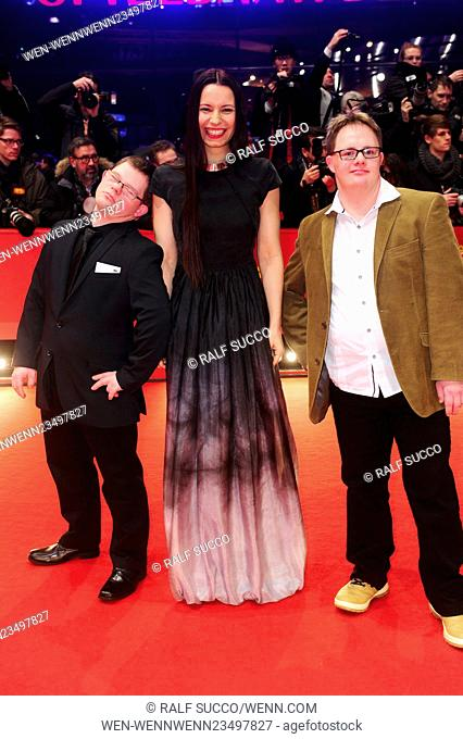66th annual International Berlin Film Festival (Berlinale) - 24 Wochen Premiere at Berlinale Palace at Potsdamer Platz Featuring: Anne Zohra Berrached Where:...
