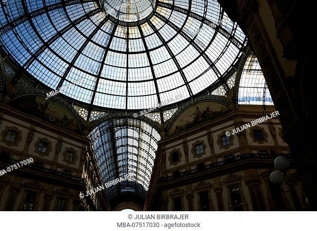 Europe, Italy, Milan, Galleria Vittorio Emanuele