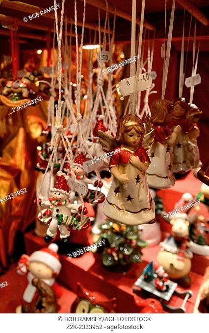 Christmas decorations, Strasbourg, France