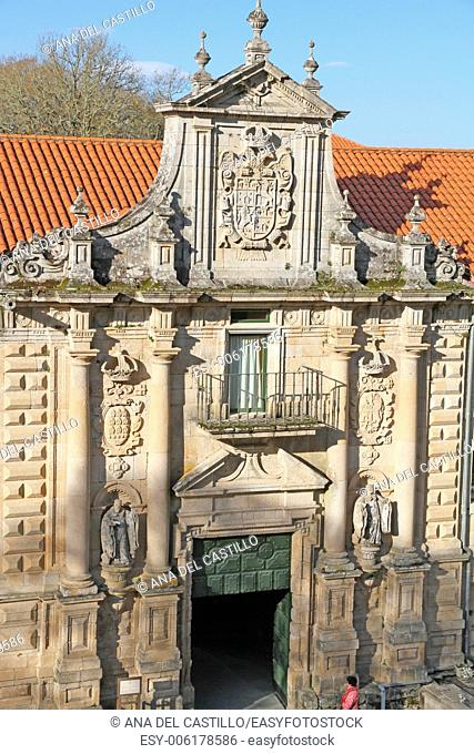 State run hotel, Santo Estevo Monastery, Ourense, Spain