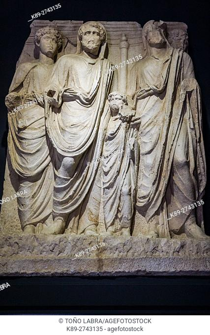 Reliefs of Parthian Monument (2nd Century AD).Ephes Museum. Classic Greek Collection. Asia Minor. Turkey