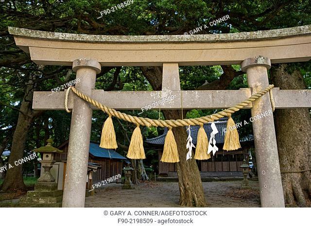 Ito Peninsula shinto shrine in Japan