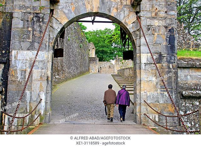 Portal de Francia, Ciudadela, Pamplona, Navarra, Spain