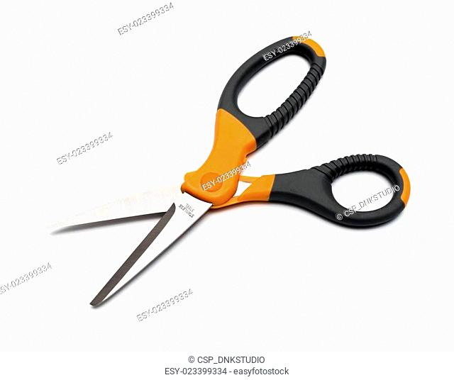 scissors isolated on a white background