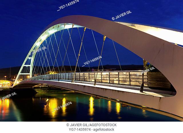 Plentzia bridge, Bizkaia, Spain