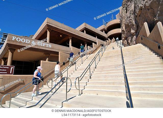 Visitor Center Hoover Dam Arizona Nevada