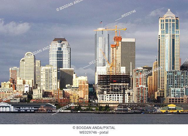 Waterfront of Seattle WA