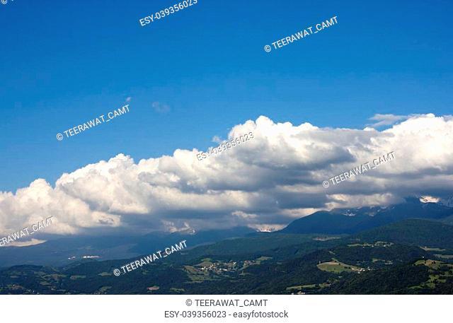 Verdon Mountain at Grenoble City (Provence - Alpes, France)