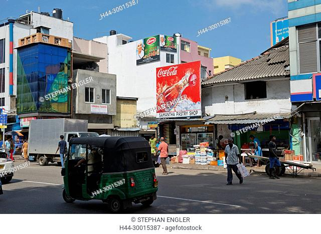 Sri Lanka, Colombo Asia, capital, Tuktuk