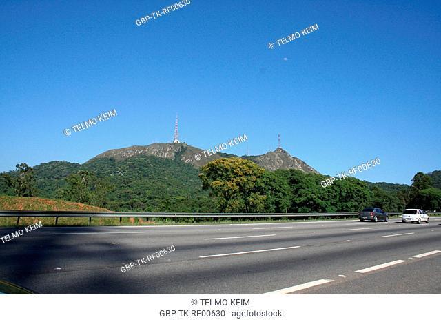 Highway, Pico do Jaragua, São Paulo, Brazil