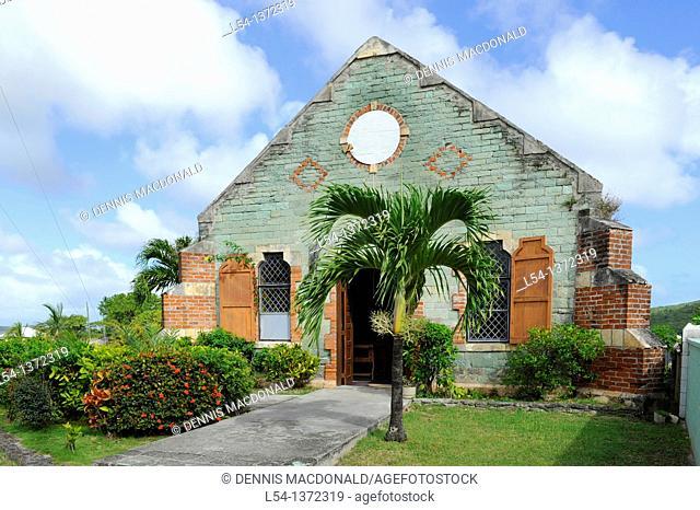 St  Barnabas Catholic Church St  John's Antigua Caribbean Cruise NCL