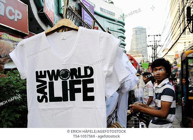 Save World Life T-shirts in Bangkok