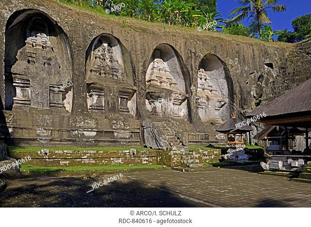 Shrines, Spring temple Pura Gunung Kawi, Bali, Indonesia