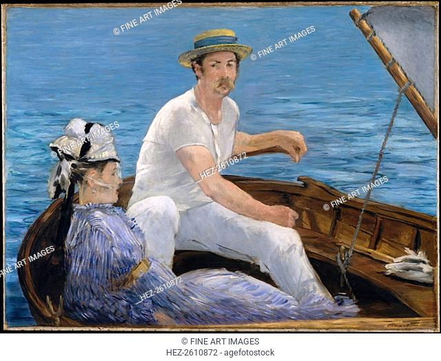 Boating, 1874. Artist: Manet, Édouard (1832-1883)