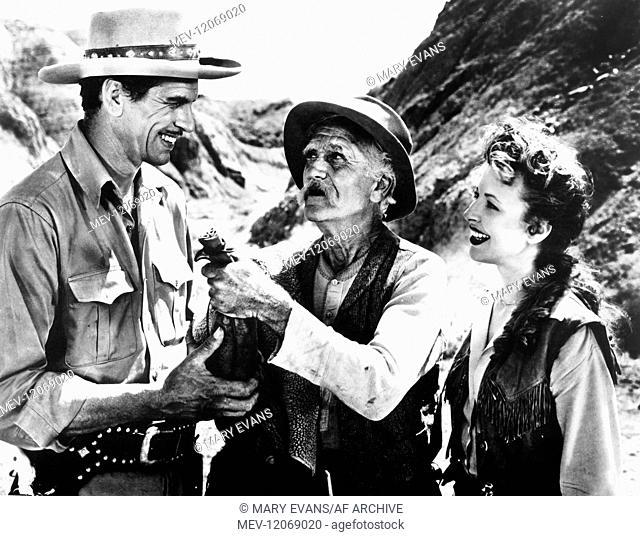 John Calvert, Ralph Morgan & Ann Cornell Characters: John Bonar, Nugget Jack, Rusty Film: Gold Fever (1951) Director: Leslie Goodwins 15 June 1952
