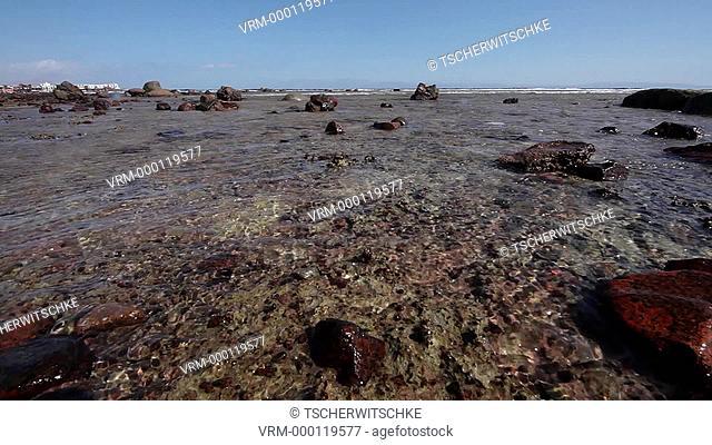 Red sea, High tide, time lapse video, Sinai, Egypt