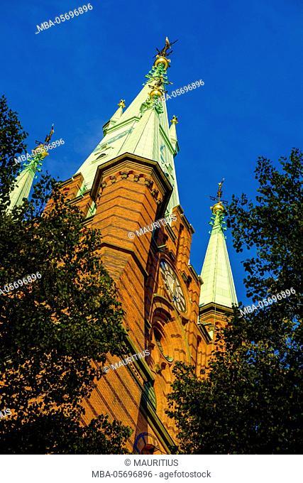 Clara Kyrkas Vänner church in Stockholm, Sweden