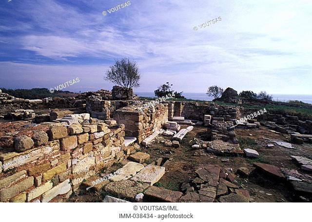 Macedonia & Thrace, Byzantine Forts Thrace, Avdira fortress ruins