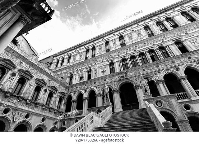 Giant's Staircase, Doge's Palace, Venice, Italy