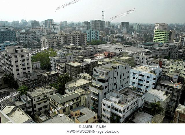 A cityscape of Dhaka the capital city of Bangladesh April 7, 2006