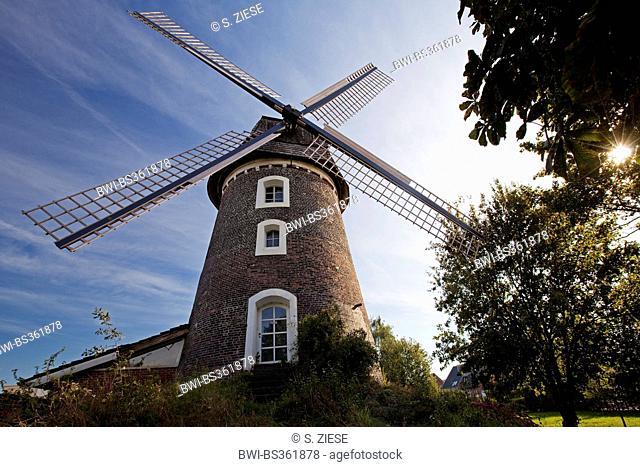tower mill Erle, Germany, North Rhine-Westphalia, Raesfeld