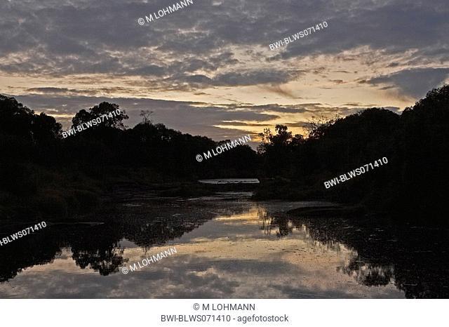 Morning at Orok River, Kenya, Masai Mara National Reserve
