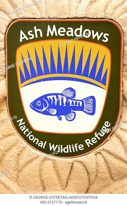 Ash Meadows National Wildlife Refuge emblem, Ash Meadows National Wildlife Refuge, Nevada
