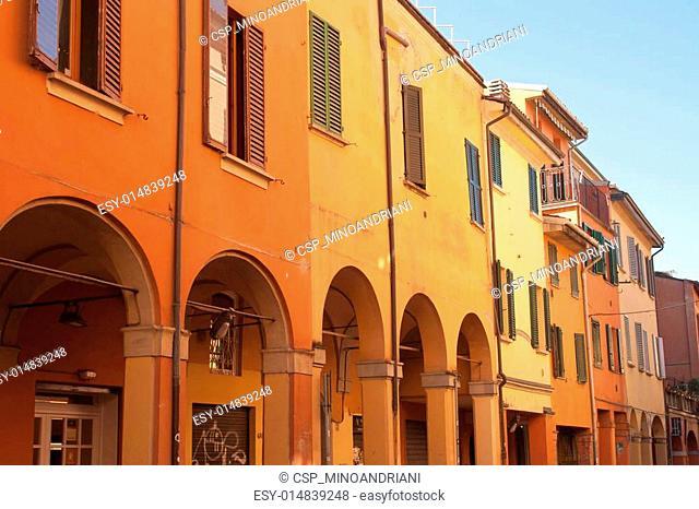 Italian Houses in Bologna
