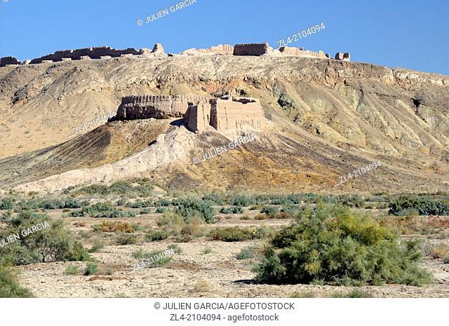 Ayaz Qala desert fortress. Uzbekistan, Karakalpakstan