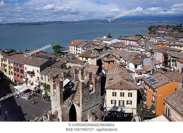 Sirmione, Lake Garda, Province Brescia, Region Lombardy, Italy, Europe