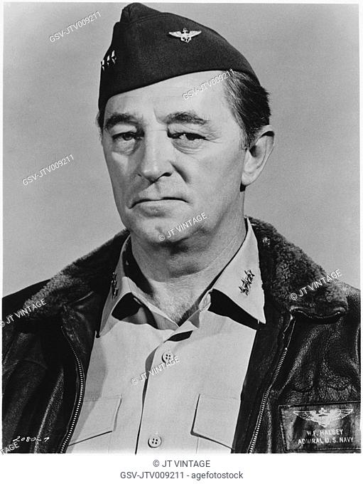 Robert Mitchum, Publicity Portrait for the Film, Midway, Universal Pictures, 1976
