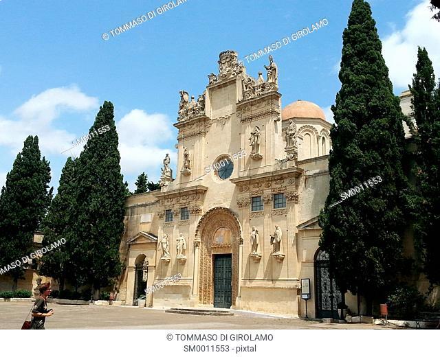 Lecce, Italy, Church of SS.Niccolò and Cataldo