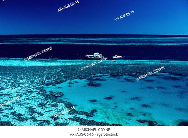 Barrier Reef, High Angle View