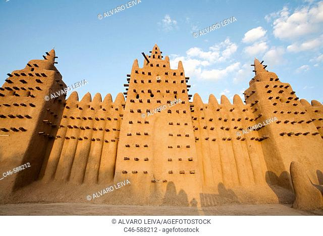 The Grand Mosque, Djenee, Mali. Africa