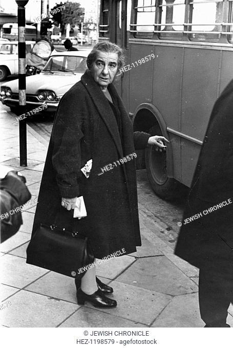 Golda Meir (1898-1978), Israeli Prime Minister