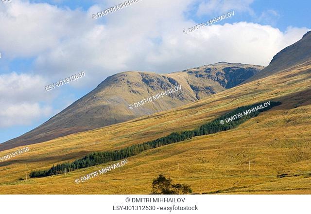 Scotland highland mountains