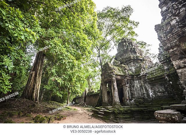 Entrance of Preah Khan temple, Angkor Complex (Siem Reap Province, Cambodia)
