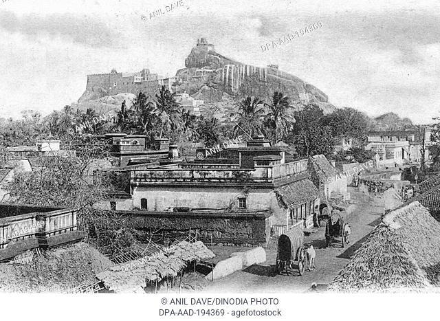 Fort, trichinopoly, trichy, tamilnadu, india, asia