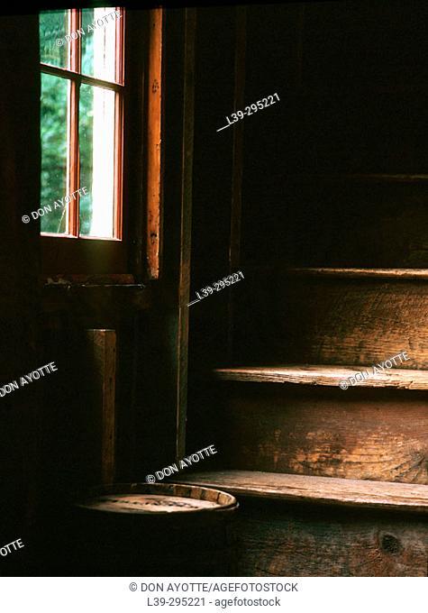 Old barn. Deerfield, Massachusetts. USA