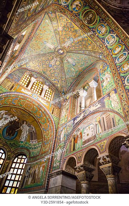 Basilica of San Vitale, It is one of eight Ravenna structures inscribed on the UNESCO World Heritage List