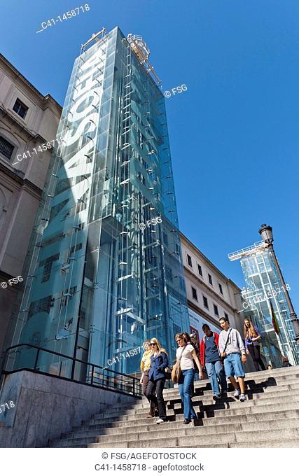 Reina Sofia Museum, Madrid, Spain
