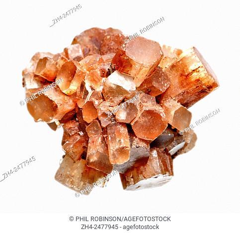 "Aragonite """"Sputnik"""" crystals"