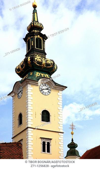 Croatia, Zagreb, Church of St Mary