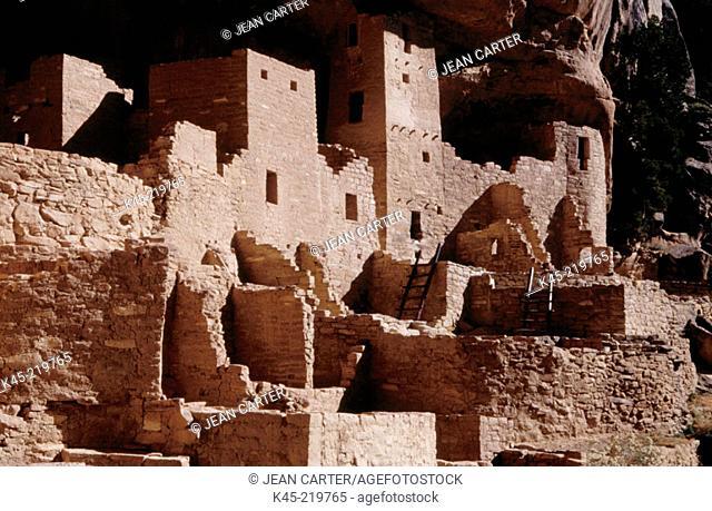 Anasazi indian ruins. Mesa Verde NP. Colorado. USA