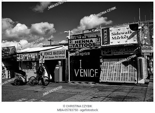 LA Noir: Venice Beach Ocean Front Walk