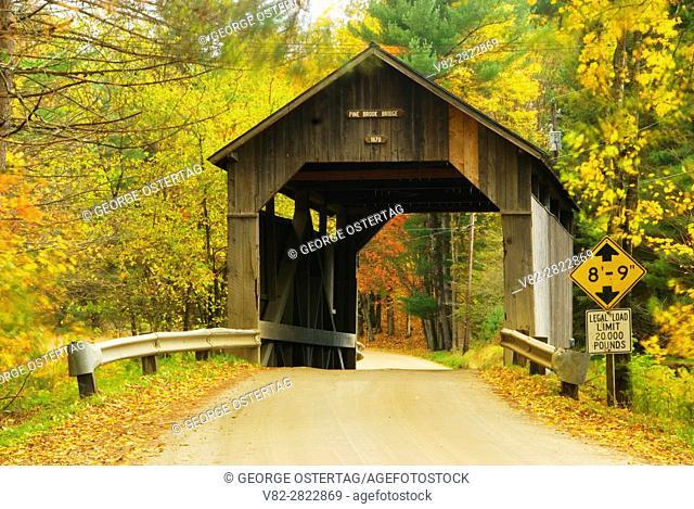 Pine Brook Covered Bridge, Washington County, Vermont