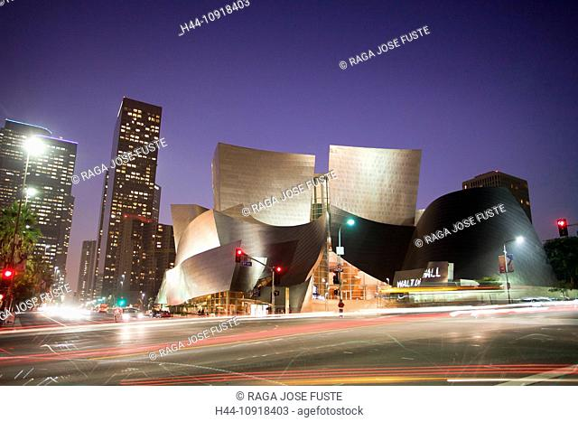 USA, United States, America, California, Los Angeles, City, Walt Disney, Concert Hall, Architect, Gehry, architecture, change, hall, modern, museum, new
